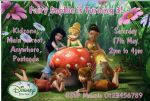 Personalised Disney Fairies Invitations